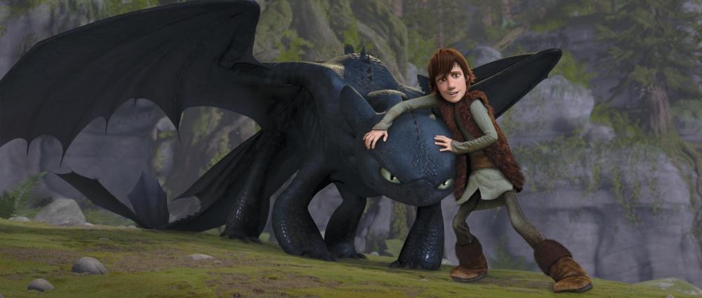 кадры из фильма Как приручить дракона