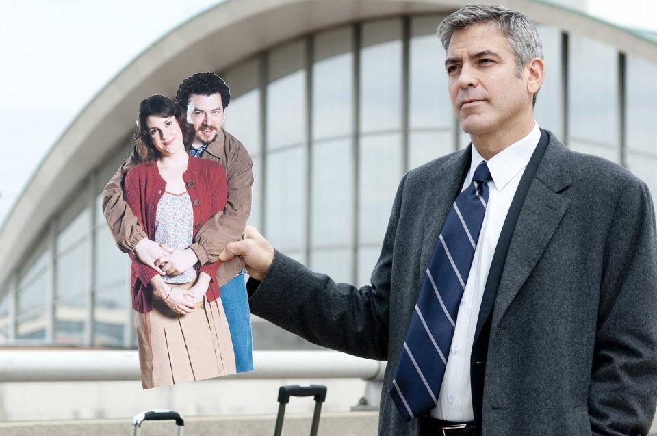 кадры из фильма Мне бы в небо Джордж Клуни,