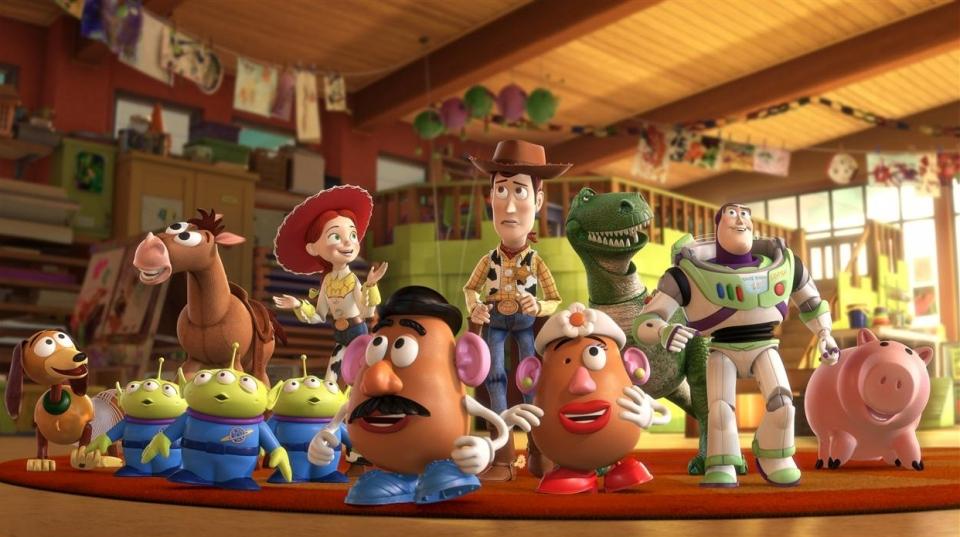 промо-слайды История игрушек: Большой побег