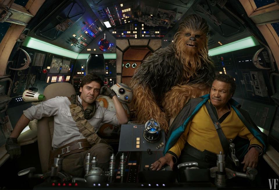 промо-слайды Звёздные войны: Скайуокер. Восход