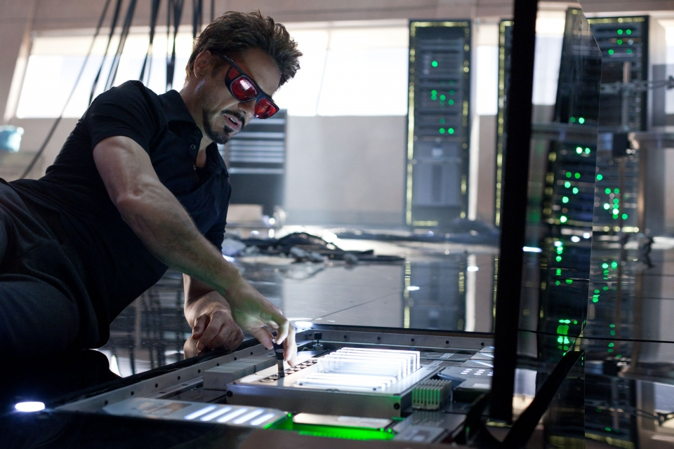 кадры из фильма Железный человек 2 Роберт Дауни-мл.,