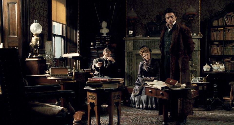 кадры из фильма Шерлок Холмс Роберт Дауни-мл., Келли Рэйлли, Джуд Лоу,