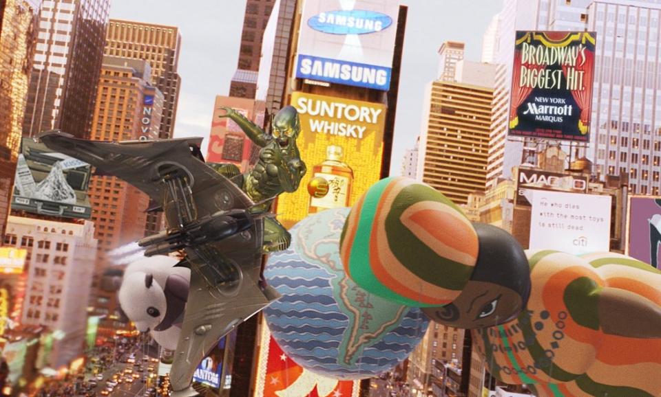 кадры из фильма Человек-паук Уиллем Дэфо,