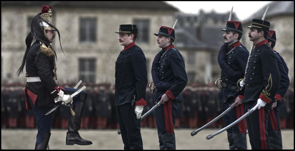 кадры из фильма Офицер и шпион