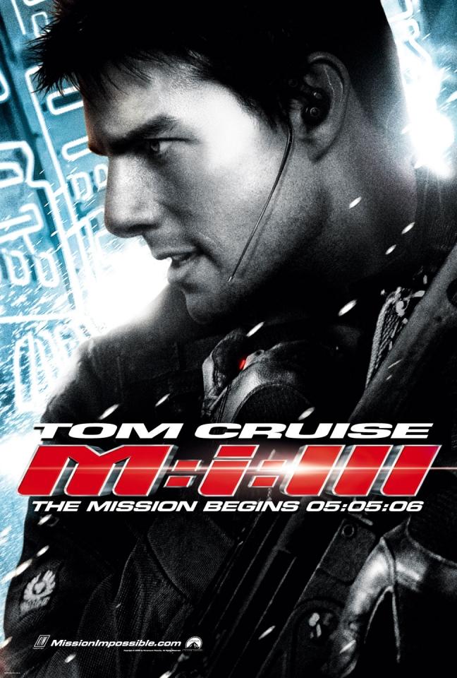 плакат фильма Миссия: Невыполнима III