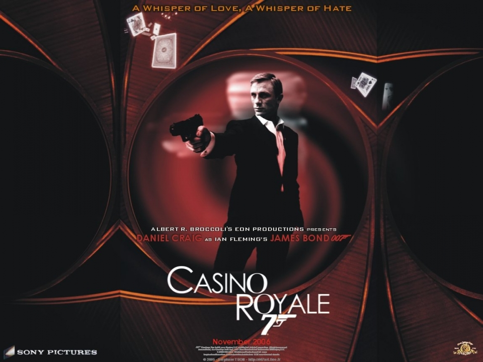 плакат фильма Казино Рояль