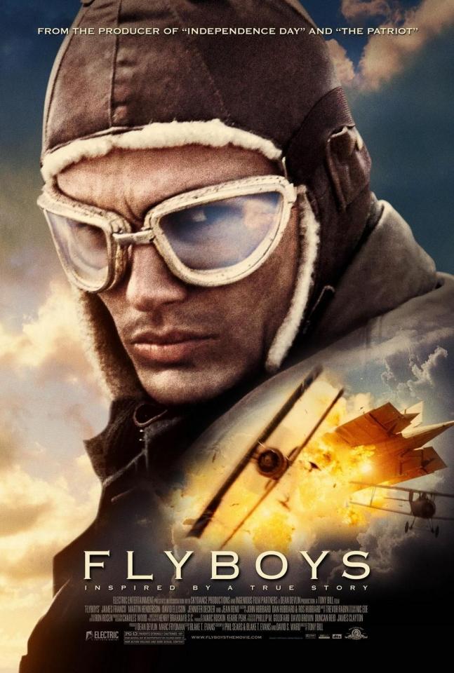 плакат фильма Эскадрилья «Лафайет»