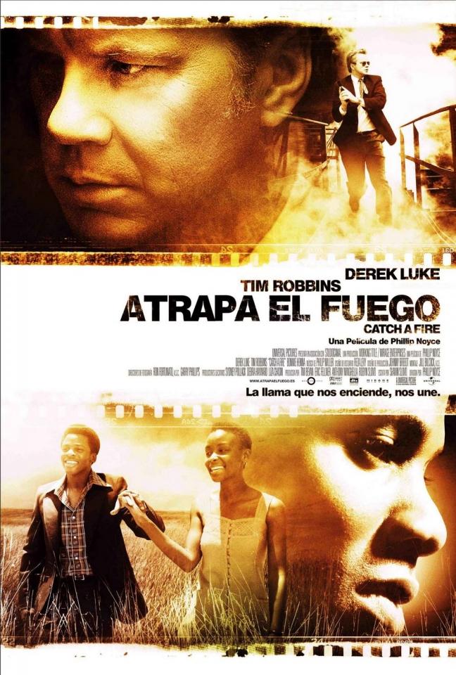 плакат фильма Выгода в огне