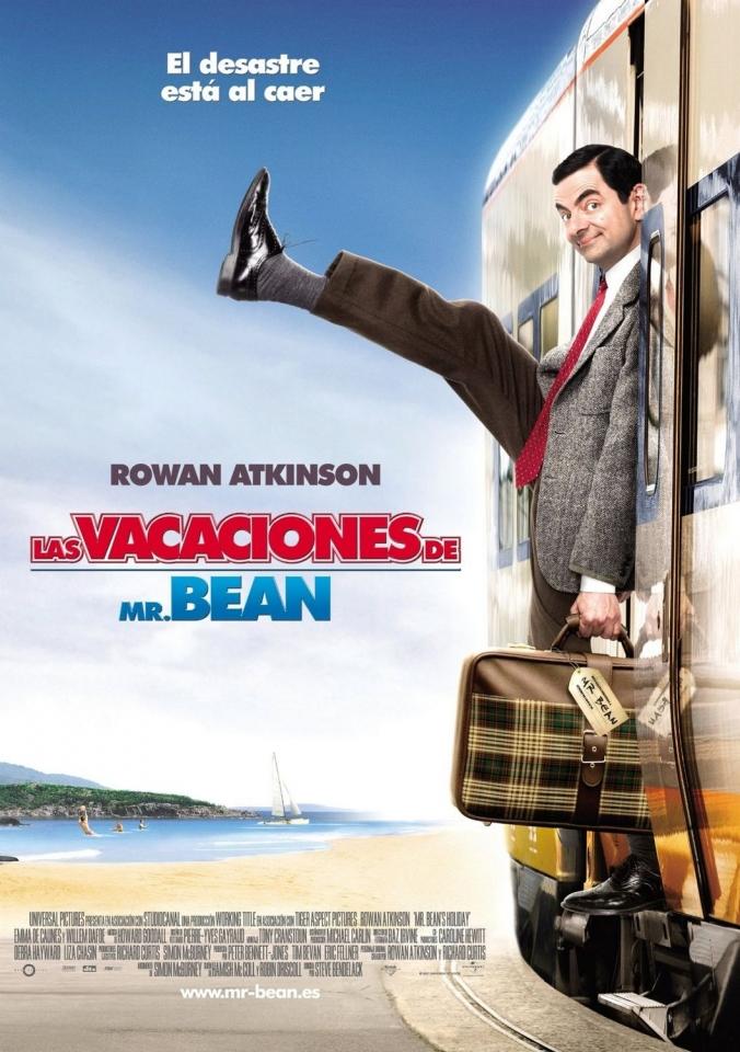 плакат фильма Мистер Бин на отдыхе