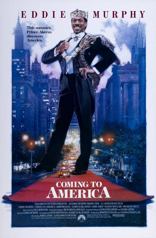 плакат фильма постер Поездка в Америку