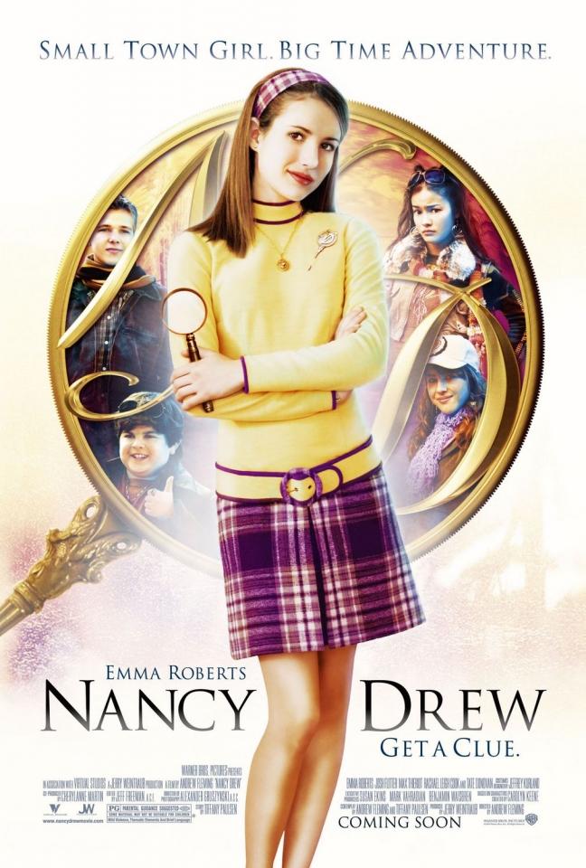 плакат фильма Нэнси Дрю
