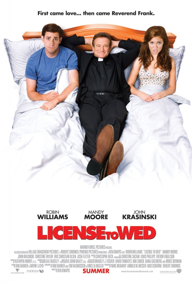 плакат фильма постер Лицензия на брак