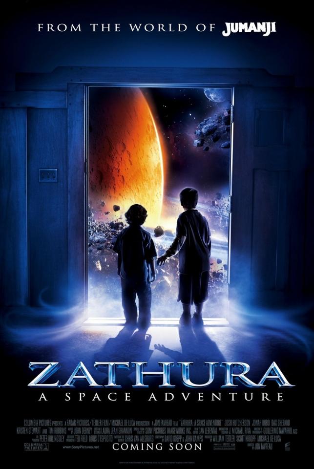 плакат фильма Затура: Космическое приключение