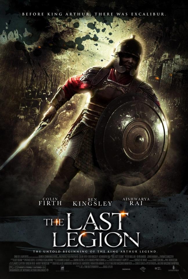 плакат фильма Последний легион