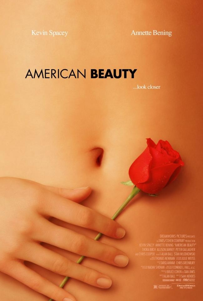 плакат фильма Красота по-американски