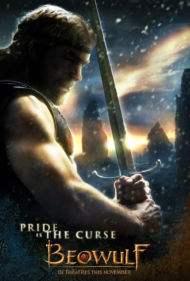 плакат фильма Беовульф