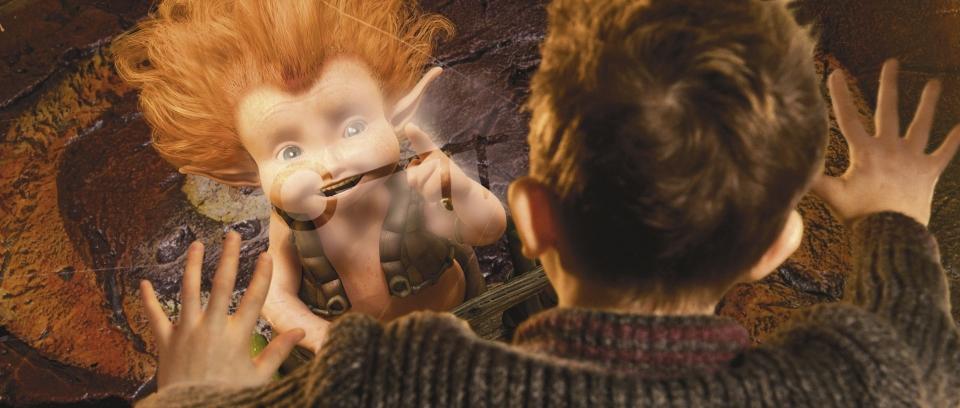 кадры из фильма Артур и минипуты Фредди Хаймор,