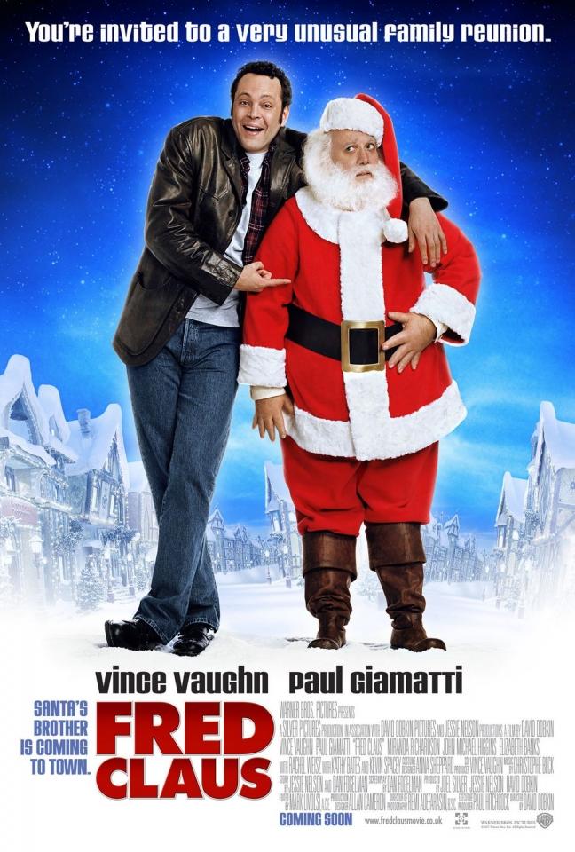 плакат фильма Фред Клаус, брат Санты
