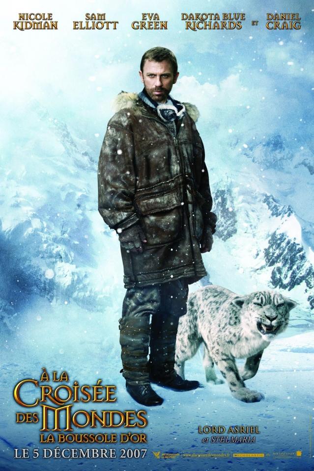 плакат фильма характер-постер Золотой компас Дэниел Крэйг,