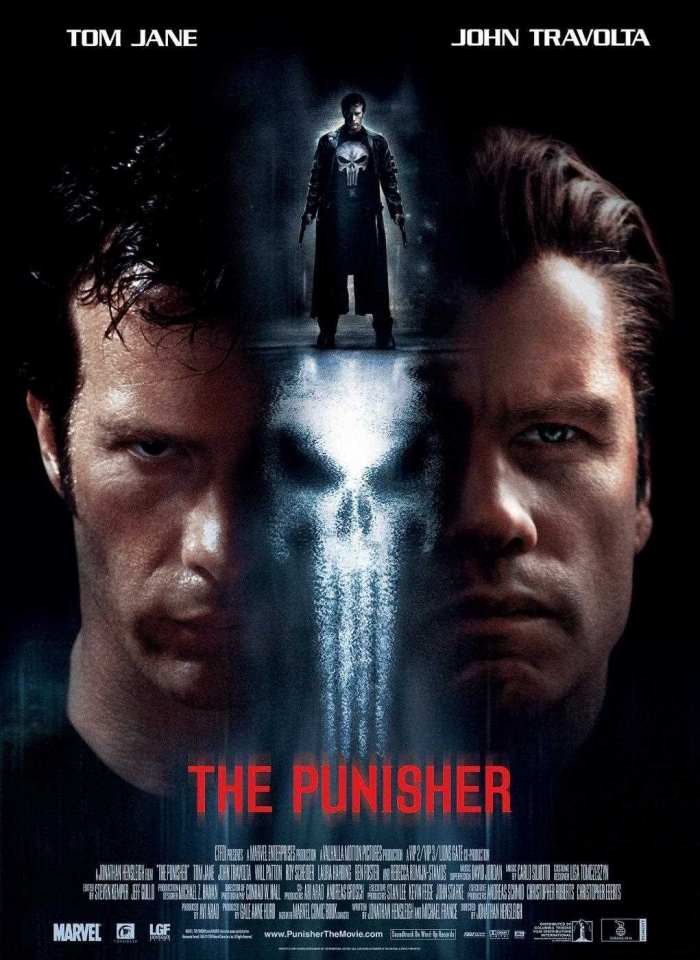 плакат фильма Каратель