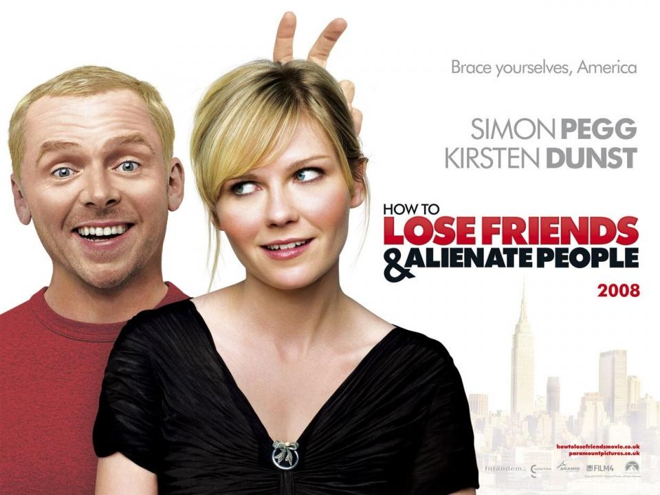 плакат фильма Как потерять друзей и заставить всех тебя ненавидеть