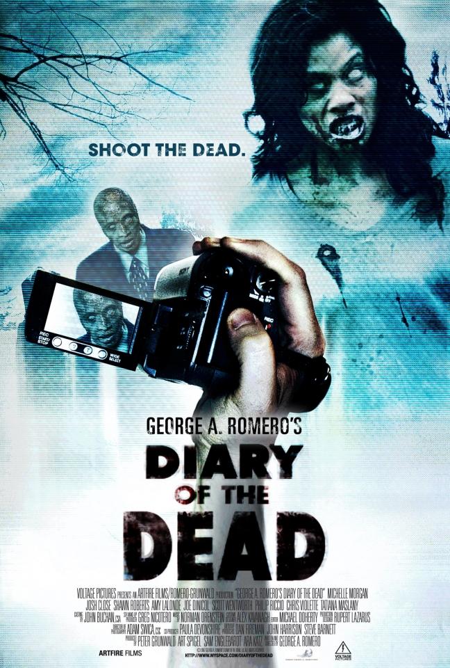 плакат фильма Дневники мертвецов