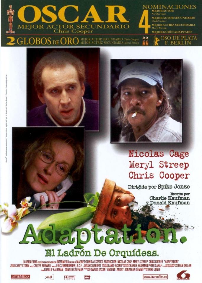 плакат фильма Адаптация