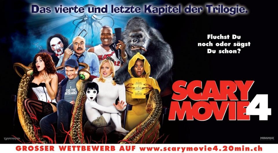 плакат фильма Очень страшное кино 4