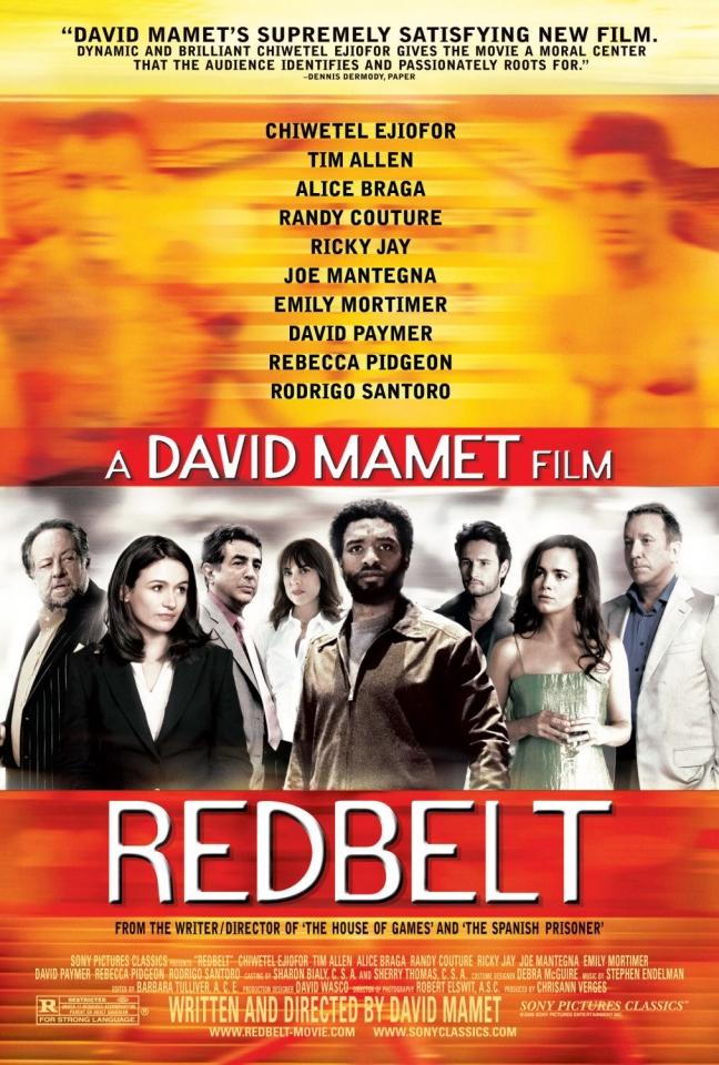 плакат фильма Красный пояс