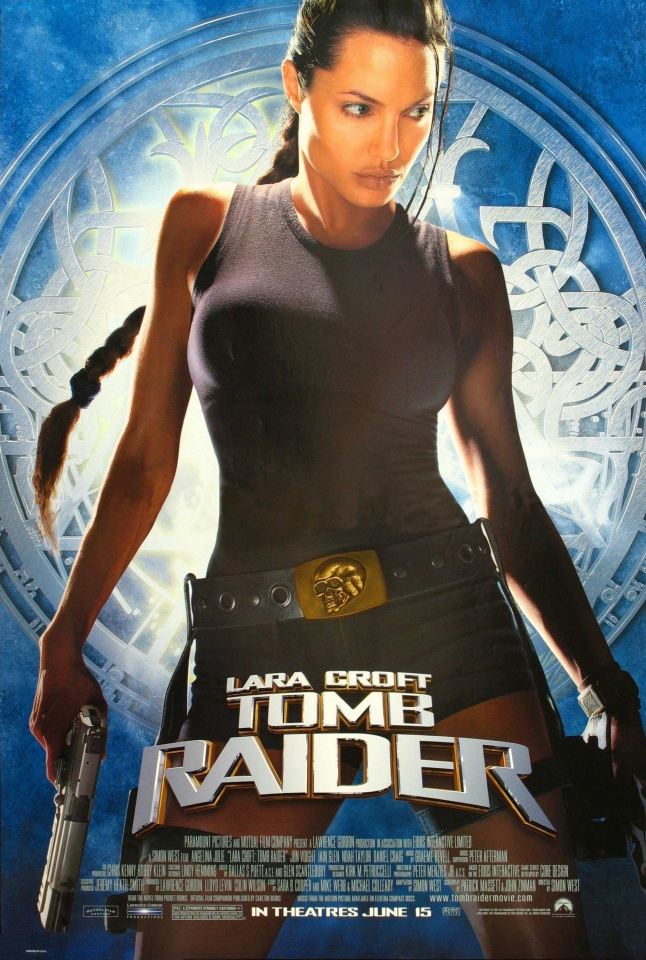 плакат фильма Лара Крофт: Расхитительница гробниц
