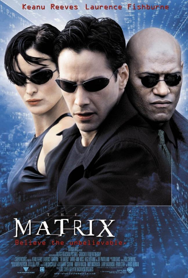 плакат фильма Матрица