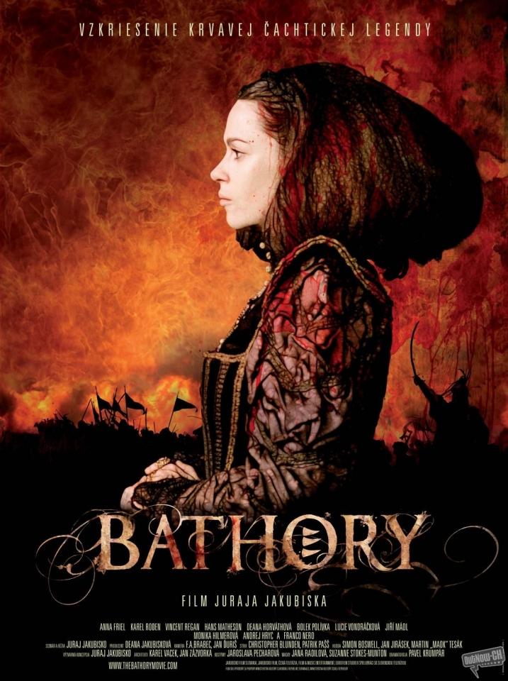 плакат фильма Кровавая графиня Батори