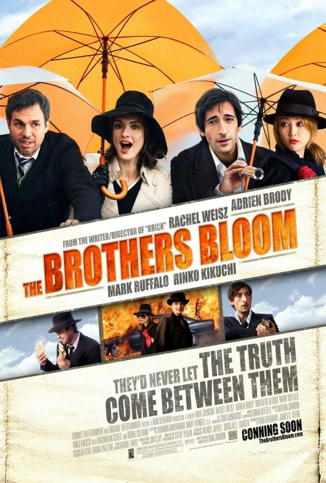 плакат фильма Братья Блум
