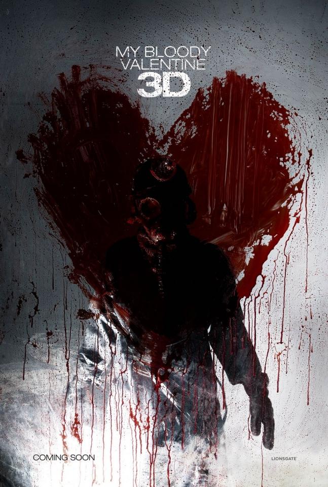 плакат фильма Мой кровавый Валентин 3D
