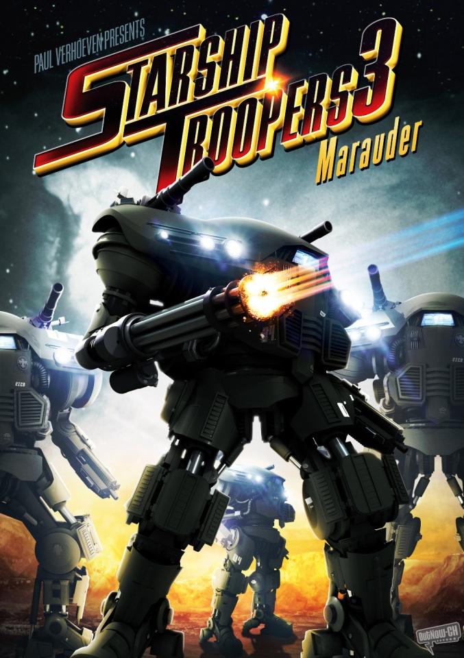 плакат фильма Звездный десант 3: Мародер