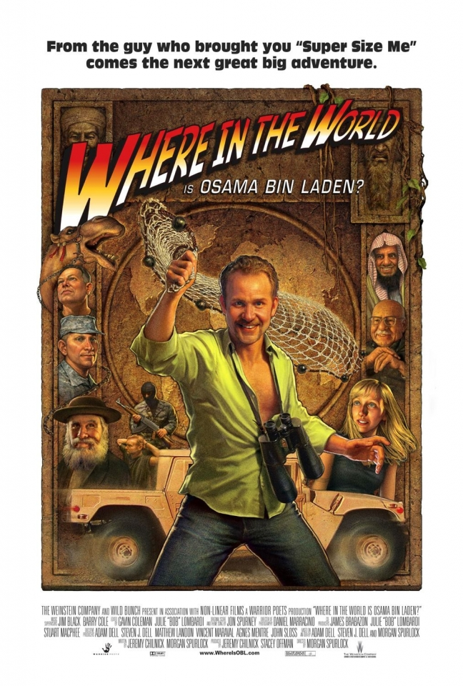плакат фильма Так где же ты, Усама Бин Ладен?