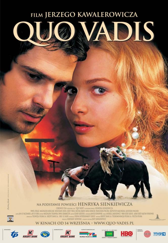 плакат фильма Кво вадис