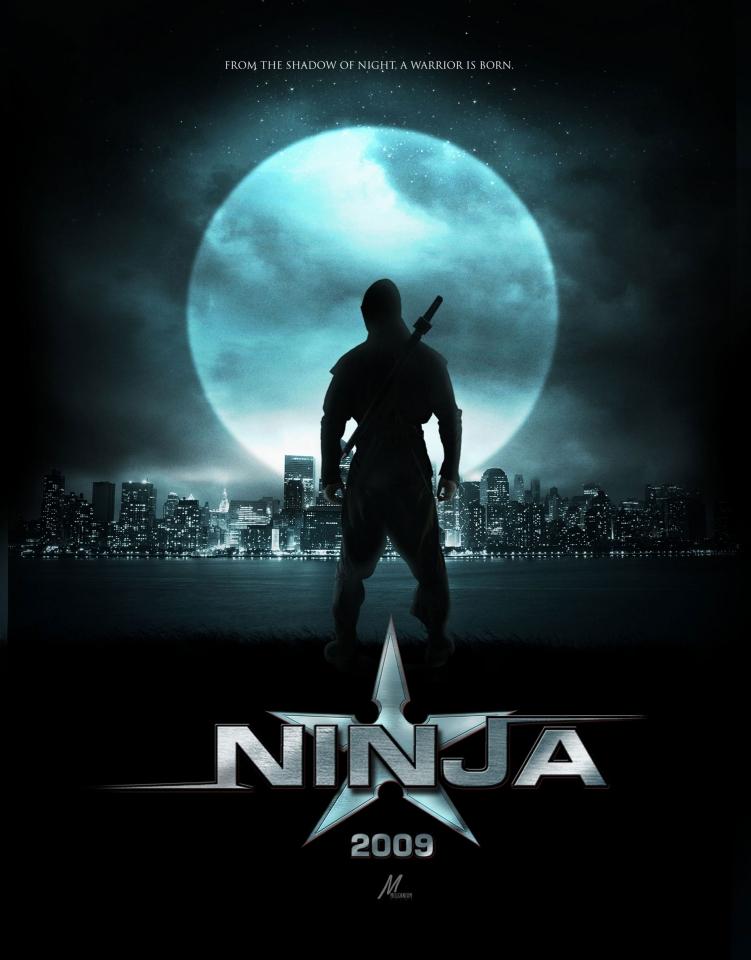 плакат фильма Ниндзя