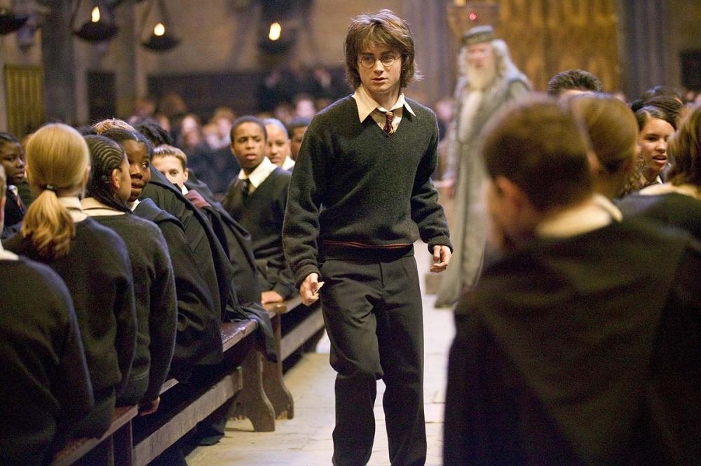 кадры из фильма Гарри Поттер и Кубок Огня Майкл Гэмбон, Дэниэл Рэдклифф,