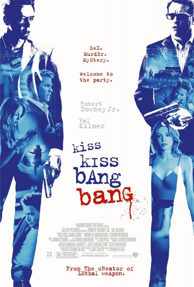 плакат фильма Поцелуй навылет