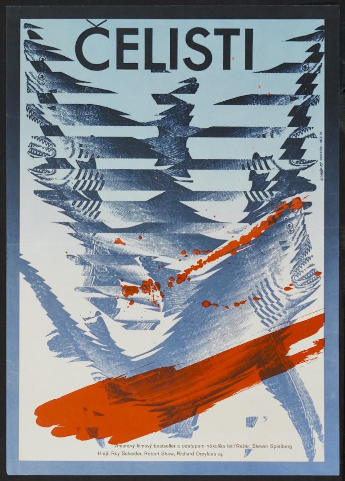 плакат фильма Челюсти