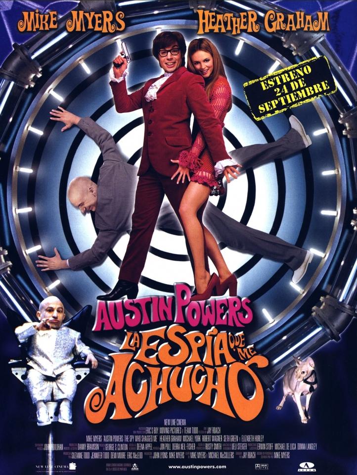 плакат фильма Остин Пауэрс: Шпион, который меня соблазнил