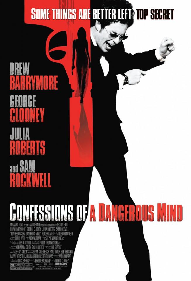 плакат фильма Признания опасного человека