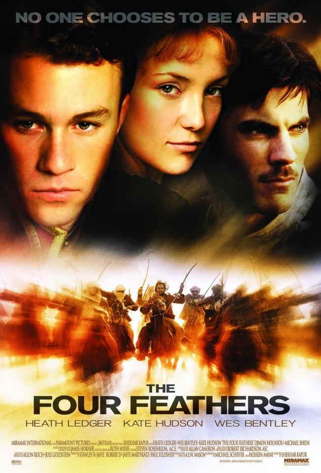 плакат фильма постер Четыре пера