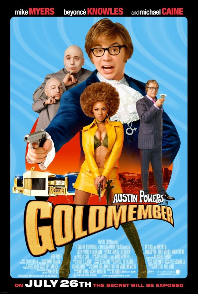 плакат фильма Остин Пауэрс — Голдмембер