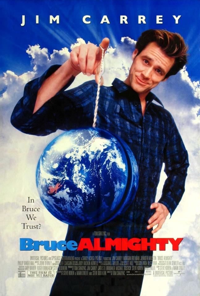 плакат фильма Брюс Всемогущий