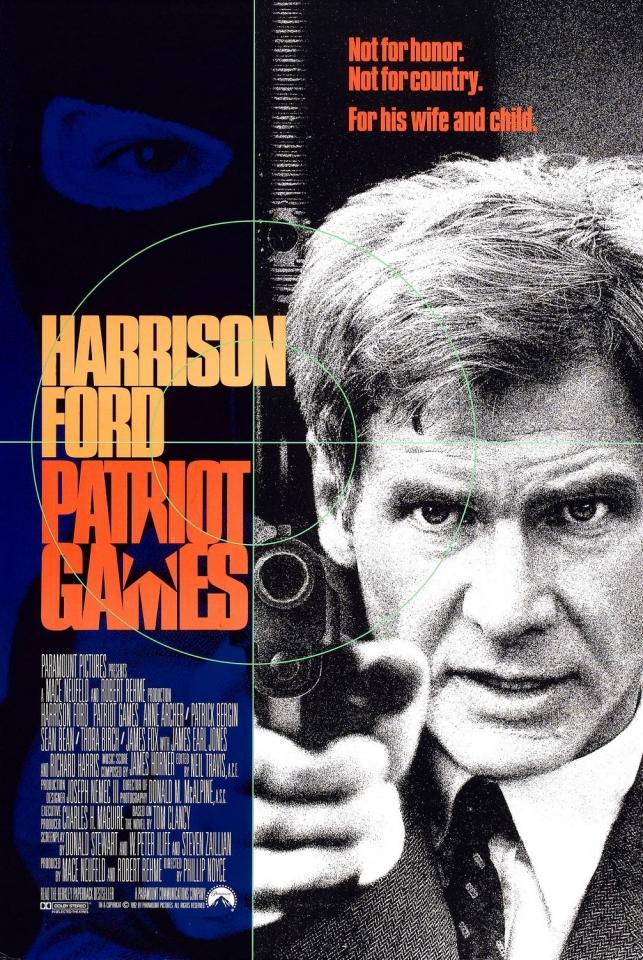 плакат фильма Игры патриотов