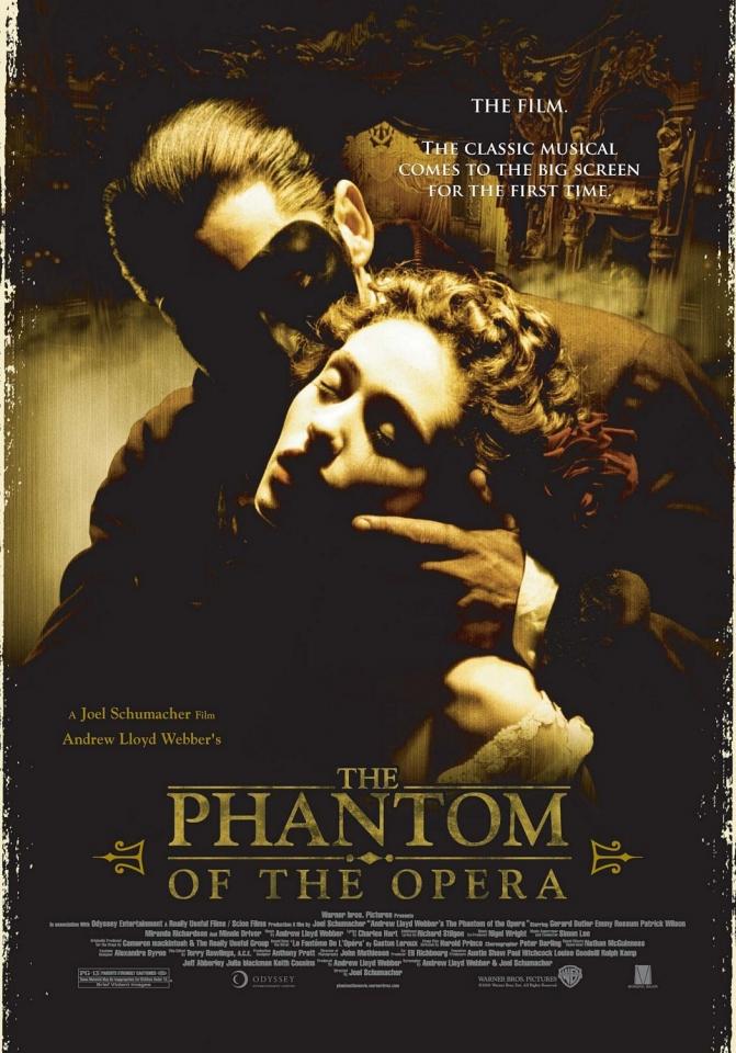 плакат фильма Призрак Оперы