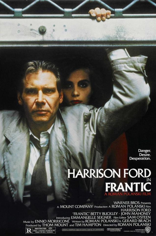 плакат фильма На грани безумия