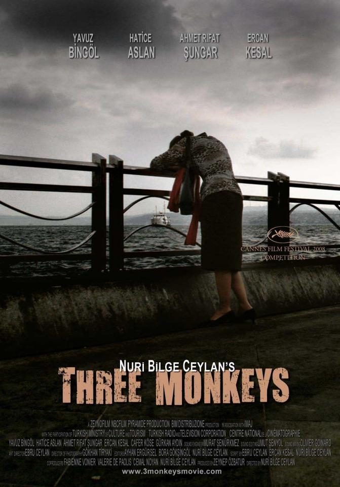 плакат фильма Три обезьяны